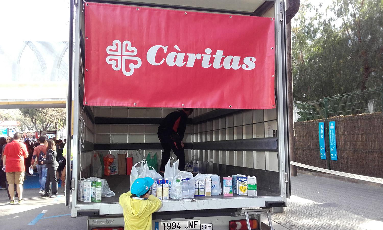 MS SERVICE COLABORA CON CÁRITAS EN EL TORNEO CONDE DE GODÓ